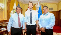 Le directeur de l'ISPF reçu par le président