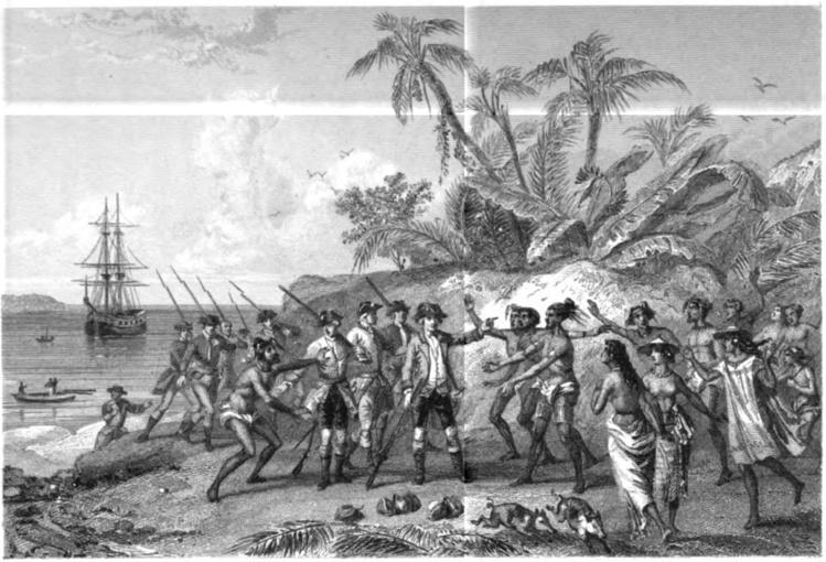 A Tahiti, les Polynésiens ne mirent que quelques instants pour découvrir que l'assistant de Commerson était une femme !