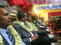 Le Président au Taurua Varua à Bora Bora