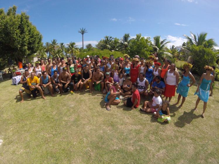 Moorea : Près de 160 danseurs unis pour le record du monde de Ori Tahiti 2016