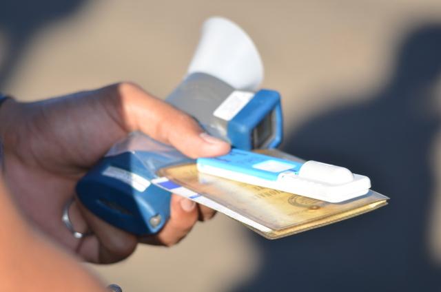 Le test salivaire utilisé par les gendarmes et la police réagit en général à une consommation récente de stupéfiants.