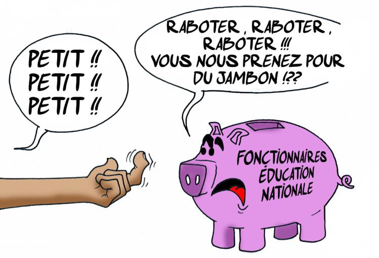 """""""Les salaires des fonctionnaires"""" par Munoz"""