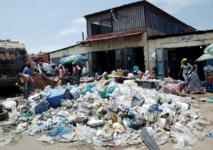 Luanda étouffe sous des montagnes d'ordures