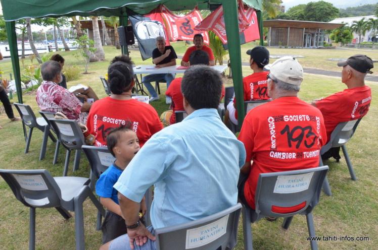 Les associations 193 et Moruroa e tatou s'unissent pour organiser une série de manifestations en vue de l'organisation d'un référendum local sur le fait nucléaire en Polynésie française à l'aube du 50e anniversaire du premier essai, le 2 juillet 1966.