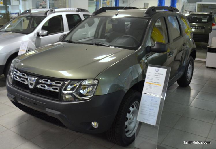 Le Duster a la côte. Avec plus de 250 exemplaires vendus en 2015, il devient le véhicule préféré des Polynésiens et double le Hilux.