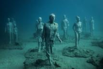 Début à Lanzarote de l'immersion des sculptures du premier musée sous-marin d'Europe
