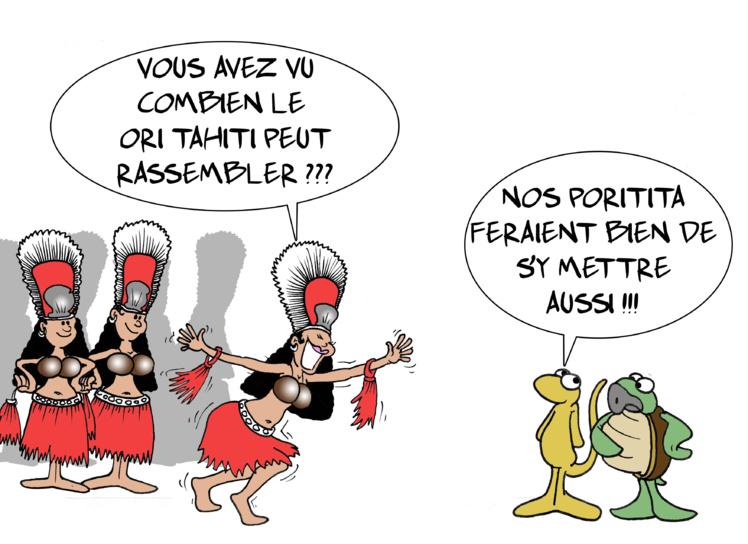 """""""Le Ori et la politique"""" par Munoz"""