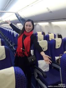 Une Chinoise se retrouve l'unique passagère d'un avion, en pleine ruée du Nouvel an