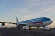 Le vol TN712 en provenance de Shangaï s'est posé mercredi soir à Tahiti Faa'a. Un autre appareil d'ATN est resté en Chine pour des opérations de maintenance.