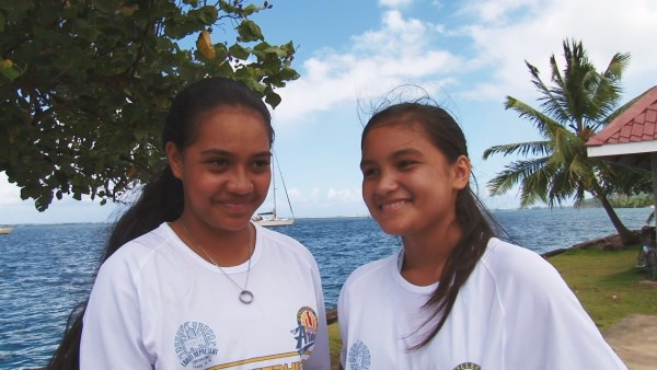 Va'a scolaire : Direction Hawaii pour les élèves du collège de Arue
