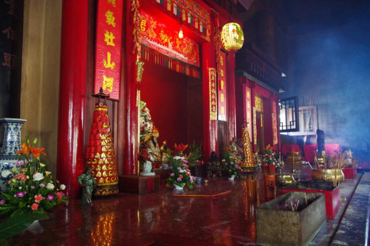 L'autel de Kanti. Photo Yan Peirsegaele