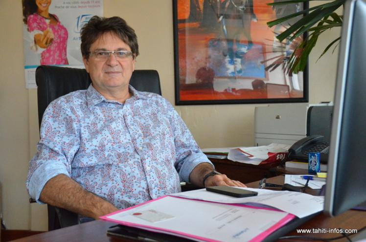 Michel Monvoisin, P-dg d'Air Tahiti Nui.