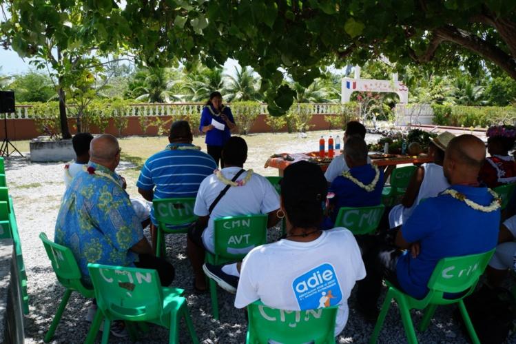 La directrice régionale de l'Adie, Wendy Mou Kui, a dressé un bilan de l'activité de l'association aux Tuamotu.