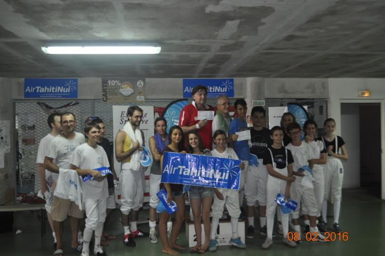 Escrime : Le tournoi ATN remporté par Jean Cuneo et Bruno Sanchez