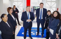Nicole Sanquer-Fareata rencontre Thierry Braillard à l'Insep et reçoit la confirmation du soutien de l'Etat