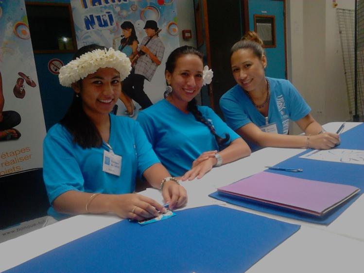 Si vous avez des questions sur les emplois dans le secteur bancaire, l'équipe de la banque de Tahiti est à votre disposition.