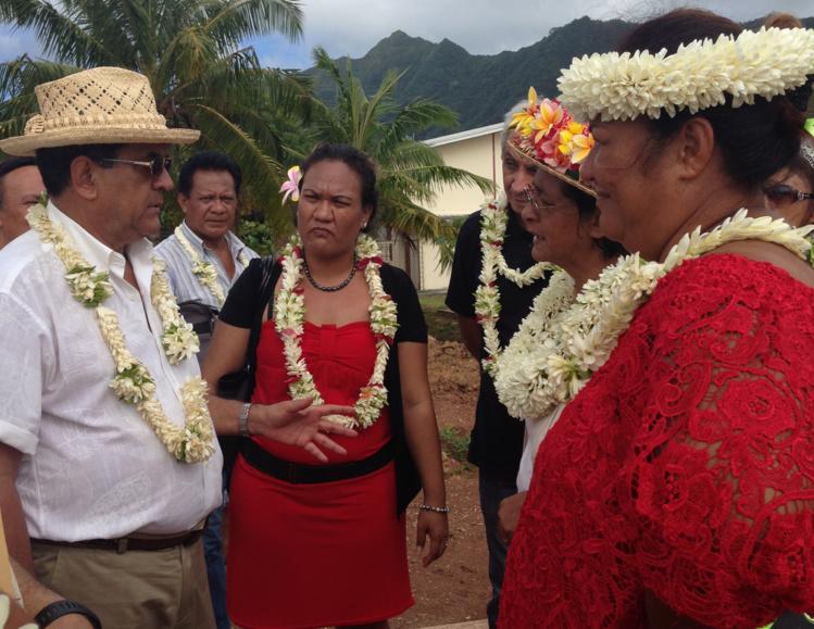 Le gouvernement a effectué une visite officielle à Huahine, Raiatea, Tahaa et Maupiti, de samedi à mardi.