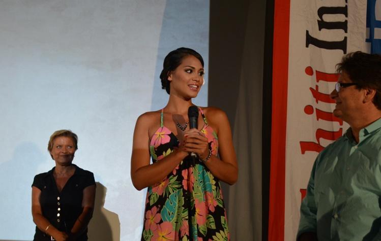 Hinarere Taputu, Miss Tahiti 2014, 1ère dauphine de Miss France 2015 et Miss France World 2016