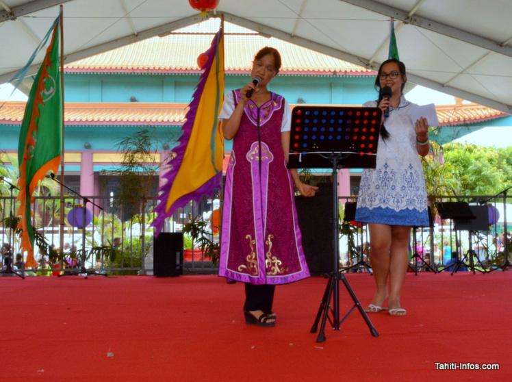 Un spectacle de chants traditionnels.
