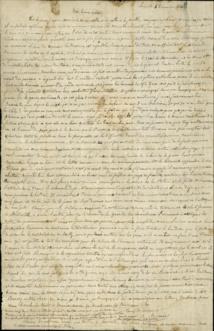 La lettre d'un fils pendant le siège de Paris en 1870 redécouverte en Australie
