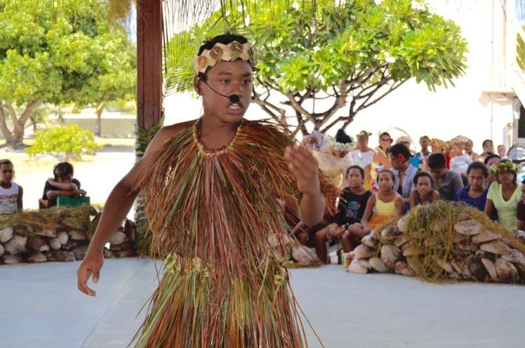 Pour leur première journée polynésienne, les collégiens ont parfaitement exécuté leur korero