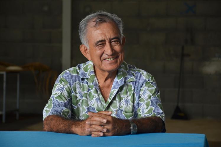 Le leader souverainiste a accordé un interview à Tahiti infos pour évoquer l'entretien privé qu'il aura avec François Hollande, le président de la République, lundi soir en marge de sa visite officielle en Polynésie française.