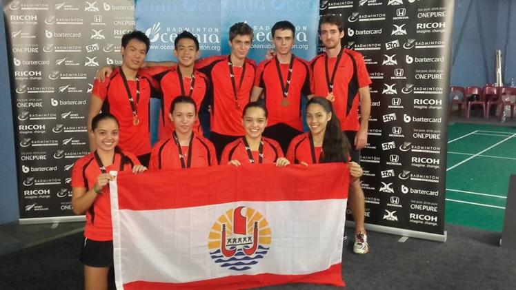 Badminton « Oceania 2016 » : Une première médaille historique pour Tahiti