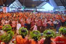 Plus de 8000 personnes au congrès fondateur du Tapura Huiraatira