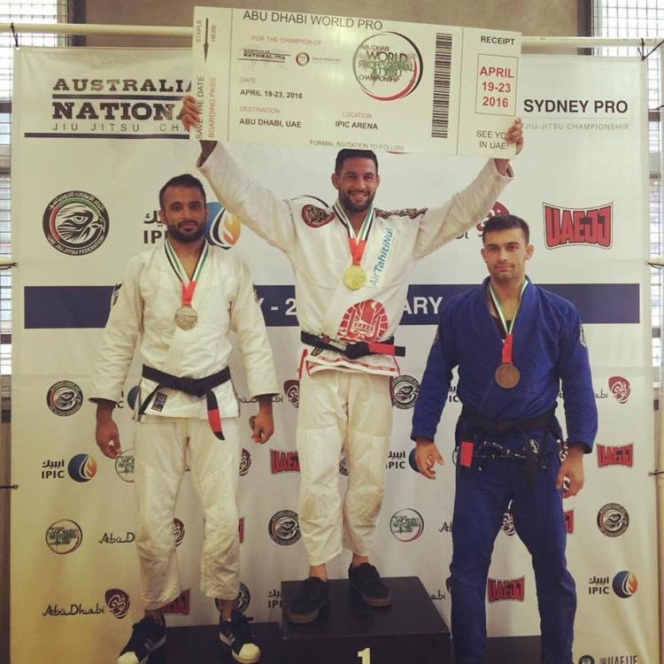 Une victoire cruciale pour Dany Gérard notre champion de jiu jitsu