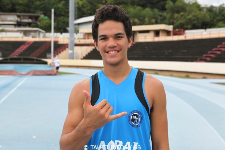Teura Tupaia, un jeune athlète au qualités exceptionnelles
