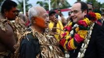 Hollande à Futuna, première visite présidentielle sur l'île