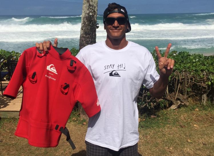 Tikanui Smith est arrivé à Maui. Il na pas négligé l'aspect sécurité