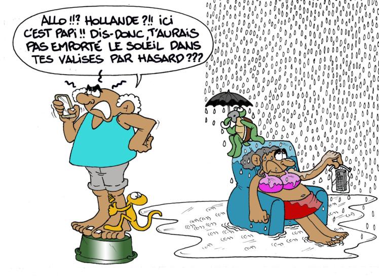 """""""Hollande et la météo"""" par Munoz"""