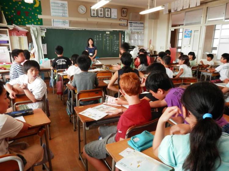 Immersion dans une école japonaise.