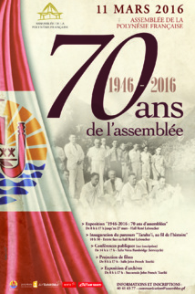 L'Assemblée célèbre son 70e anniversaire le 11 mars prochain