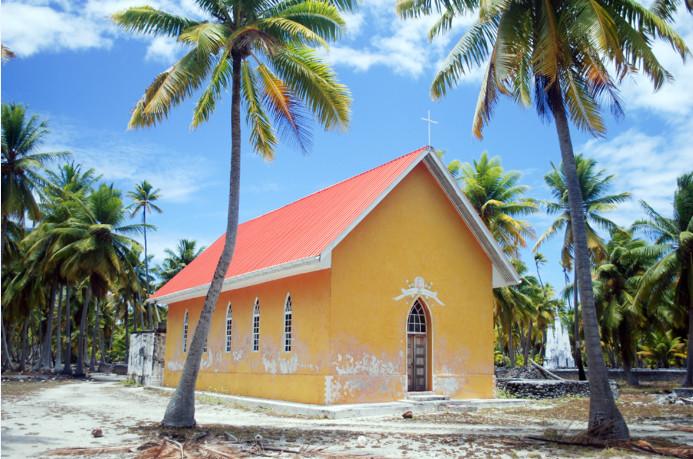 Chapelle Saint-Nicolas de Fakahina, Tuamotu