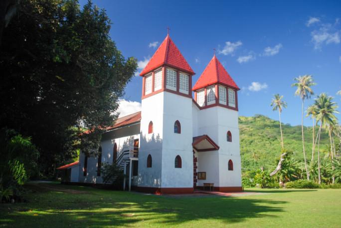 Eglise de la Sainte-Famille à Haapiti, Moorea