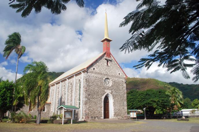 Eglise Saint-François-Xavier de Paea, Tahiti