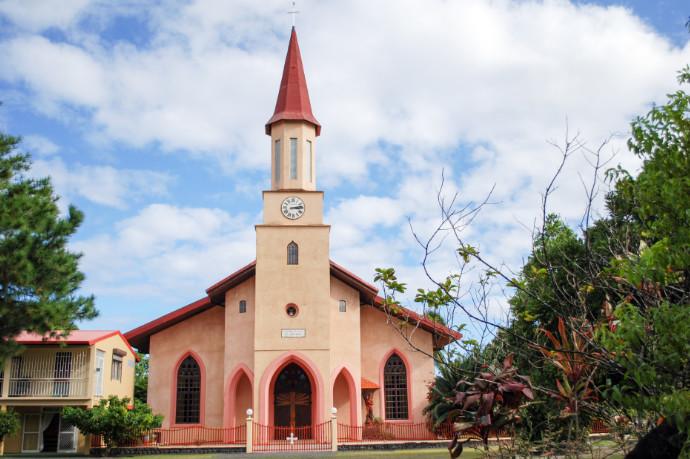 Eglise Saint-Michel de Papara, Tahiti