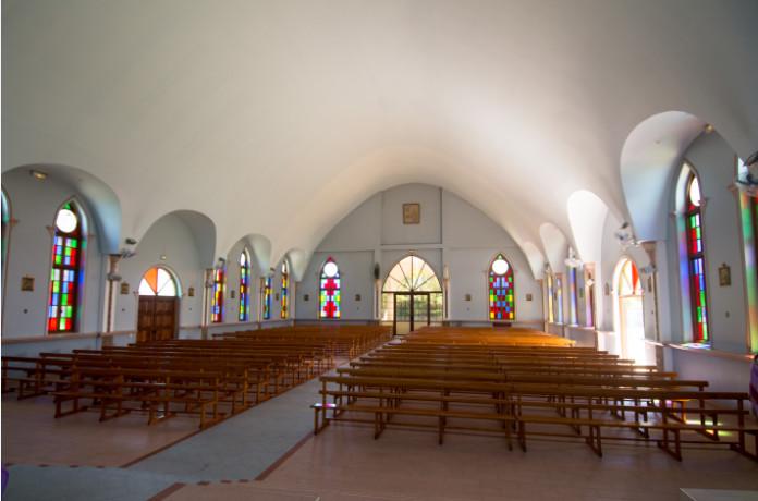 Eglise Sainte-Elisabeth de Papeari, Tahiti
