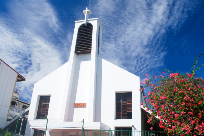 Temple protestant de Bethel à Papeete, Tahiti