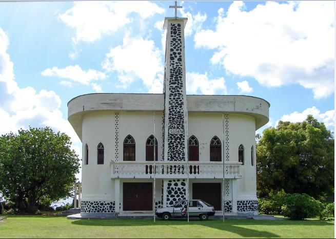 Temple protestant de Tevaitoa, Raiatea