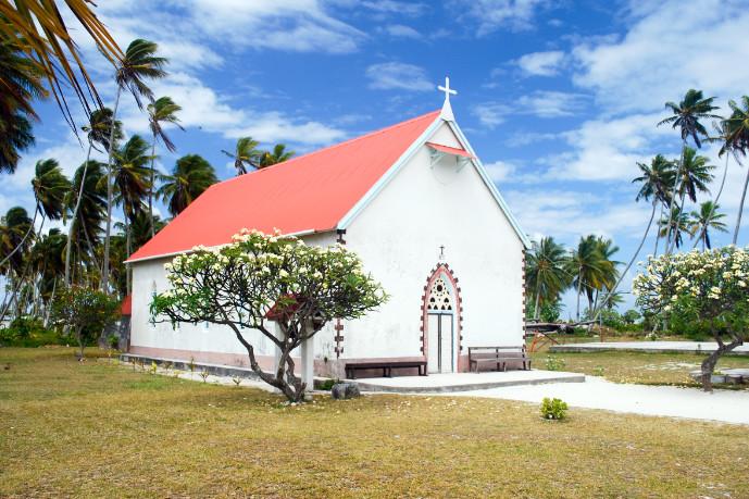 Eglise Saint-Michel de Raroia, Tuamotu