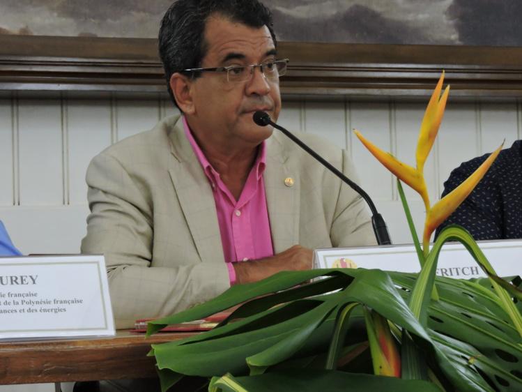 Edouard Fritch à l'ONU en octobre