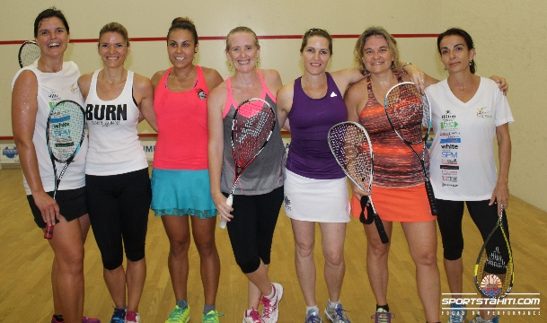 Squash : Sarah Fitz-Gérald, « Objectif remporter les Oceania »