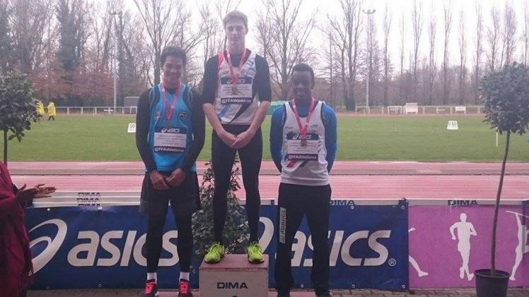 Athlétisme : Teuraiterai Tupaia, médaillé d'argent aux championnats de France