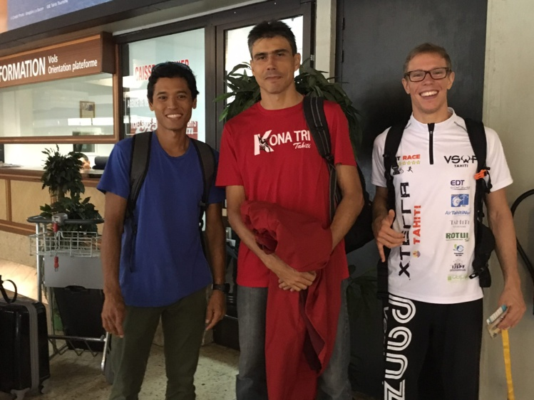 Cédric Wane, Yoann Hotellier et Thomas Lubin