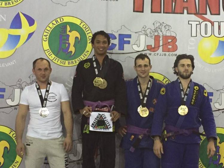 JJB « Open France » : Tehau Sanford sur la plus haute marche du podium