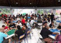 Le 12 décembre dernier lors du tournoi organisé par Tahiti Poker Tour en faveur du Téléthon 2015 à la mairie de Punaauia.
