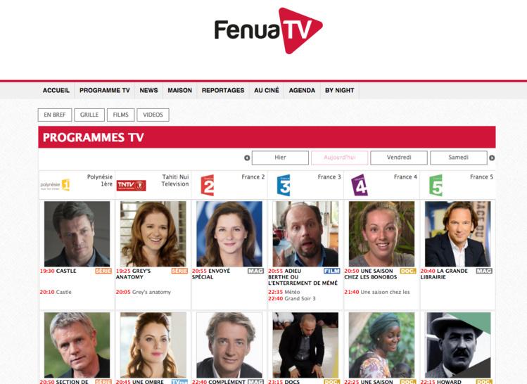 Nouveau site internet: Fenuatv.com, tout un programme!
